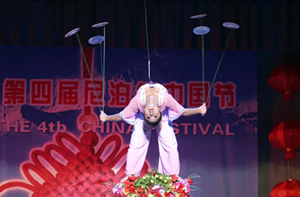 Tradittional acrobatics performance